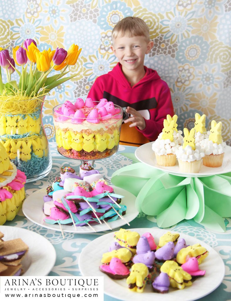 PEEPS, Easter, Easter Centerpieces, centerpieces, spring, spring has sprung, easter party, PEEPS party, peeps party, I love Peeps, Peeps recipes, Peeps crafts, crafting with Peeps